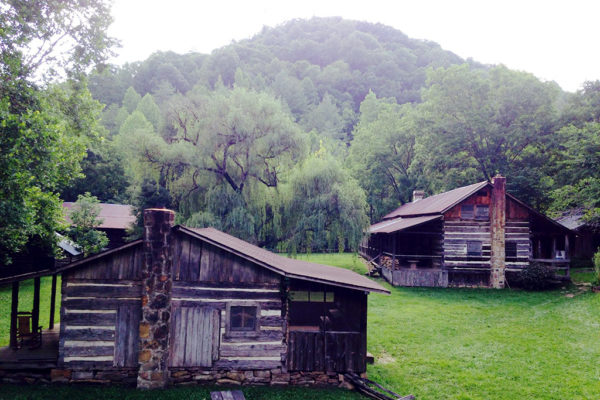 Charit Creek Lodge is a rustic backcountry lodge located in Big South Fork. Runners will likely find a festive atmosphere complete with music, beer, and burritos when they reach this aid station.